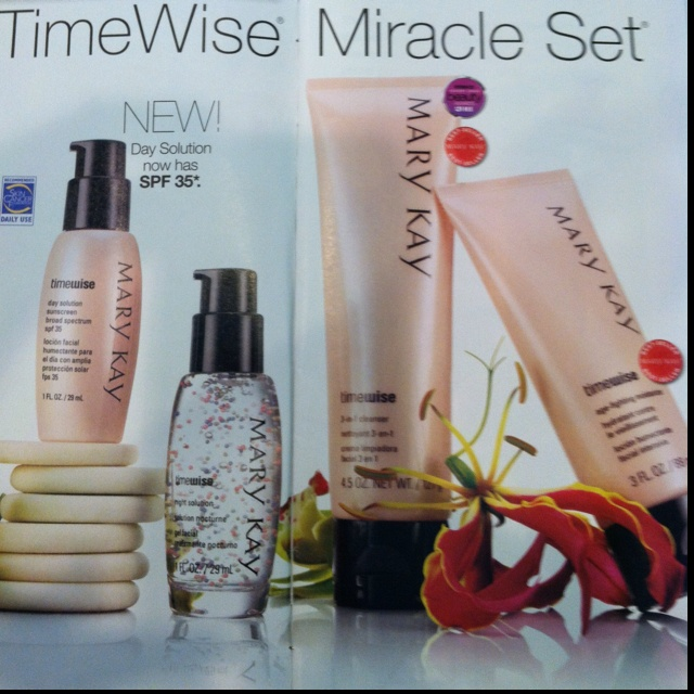 It's the perfect set for beautiful skin. Mary Kay skin care. Contact for product orders.