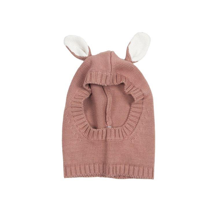 STELLA MCCARTNEY 'Hoppy' Knitted Hat Pink