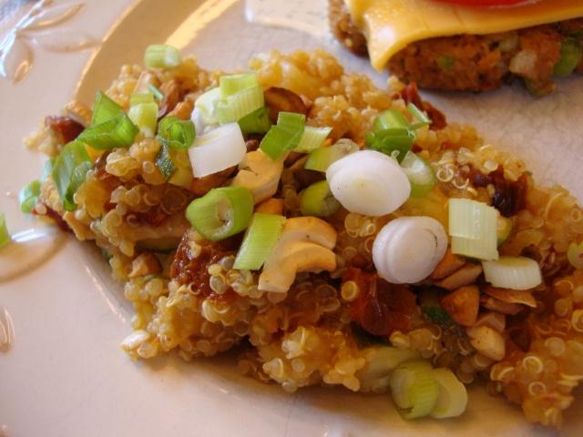 zucchini quinoa burgers quinoa with currants dill and zucchini recipe ...