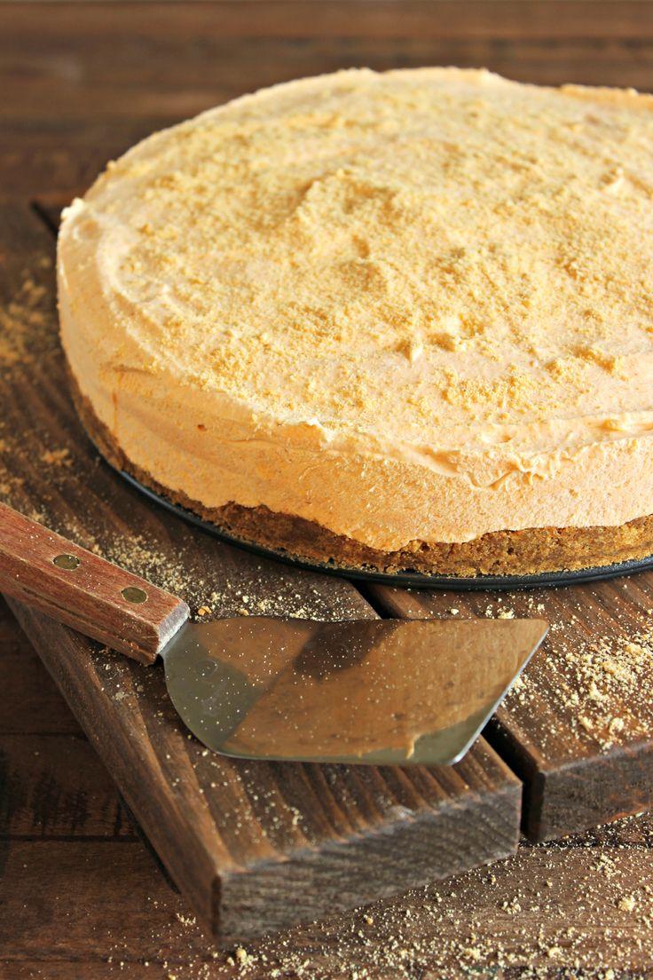 Frozen Pumpkin Pie Cheesecake   Recipe
