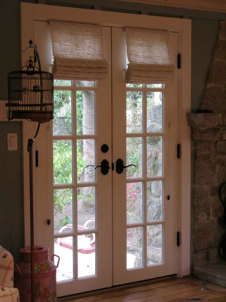 French Door Covering  For the Home  Pinterest