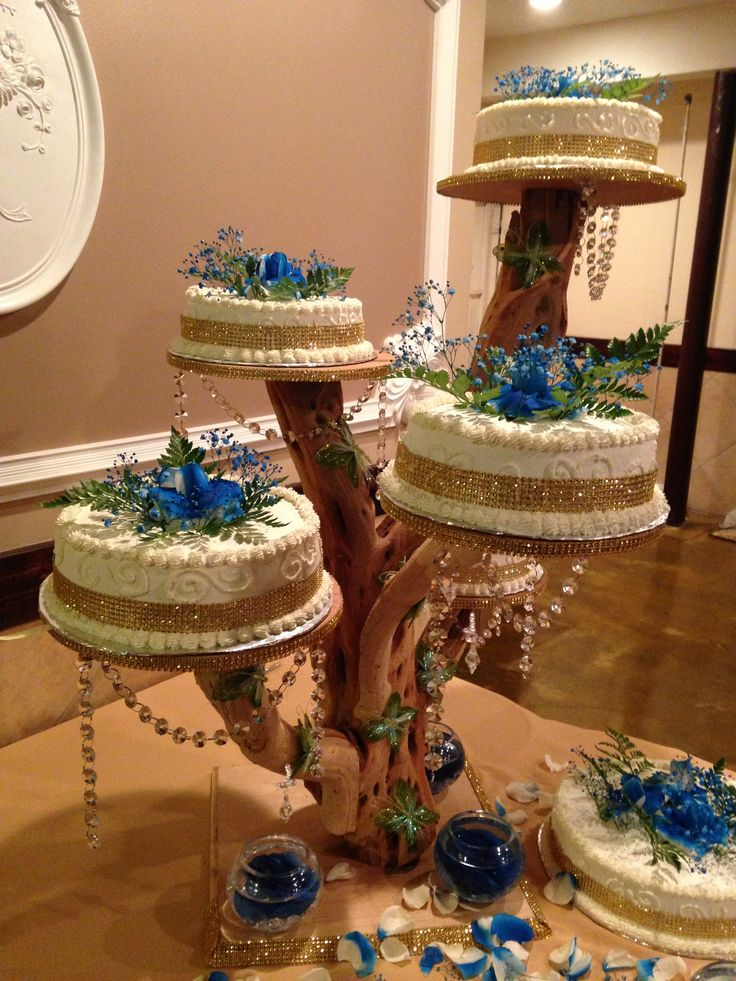 Tree Branch Cake Stand Uniting Idea Quinceanera CakeMade It