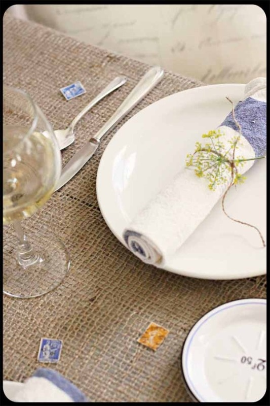 Table Setting Country French Style Pinterest