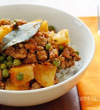 Ground turkey with potatoes and spring peas—create this quick and ...