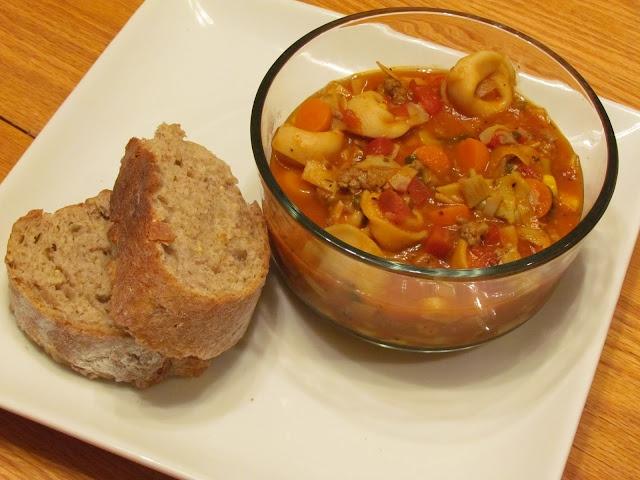 Italian Sausage & Tortellini Soup | Recipe