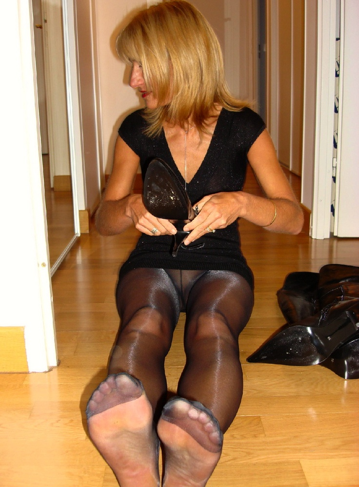 naughty wives in stockings