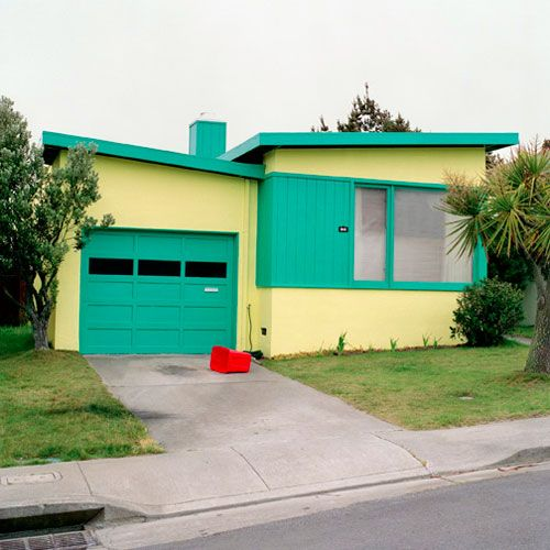 Colourful Butterfly Roof Mid Century Modern Architecture