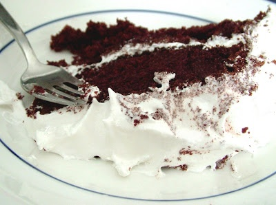 Chocolate Cake w/ Seven Minute Frosting | FOOD | Pinterest