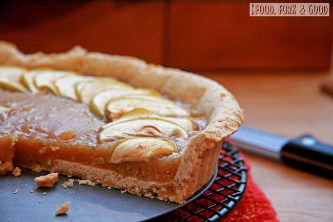 Food, Fork & Good.: Apple Treacle Tart   Dessert   Pinterest