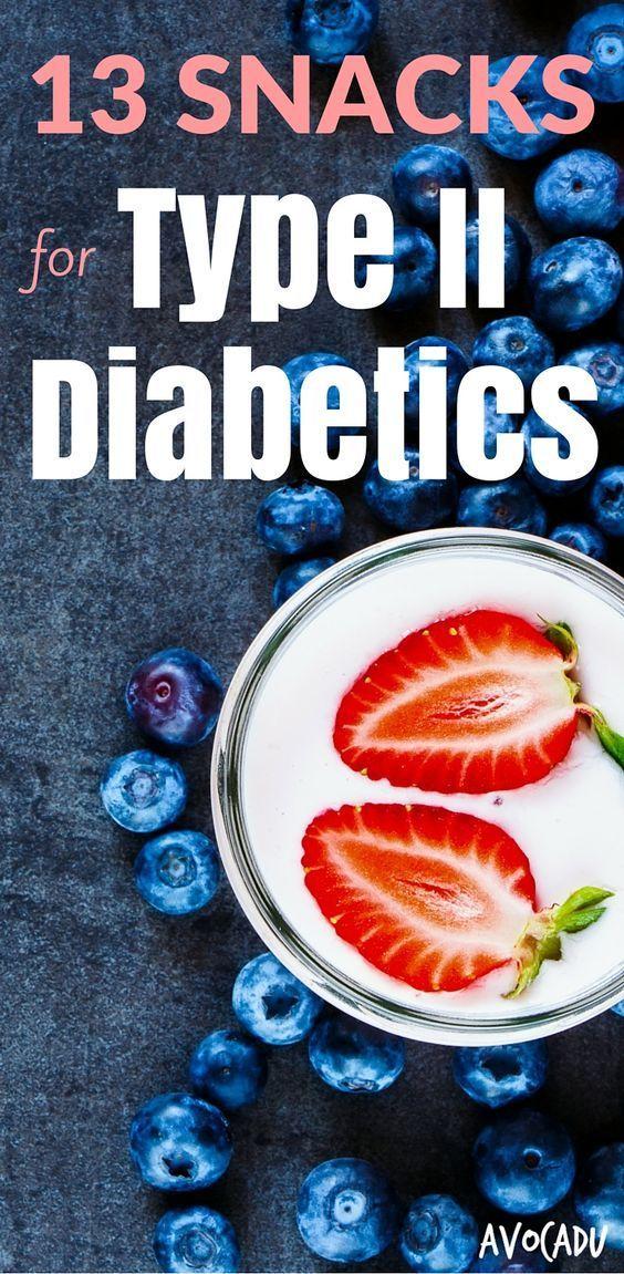 Snacks for diabetics
