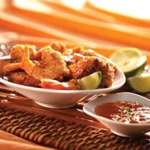 Crunchy Coconut Shrimp with Sweet Orange Marmalade Sauce | Recipe