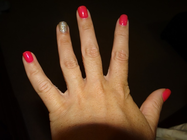 My funky nails!