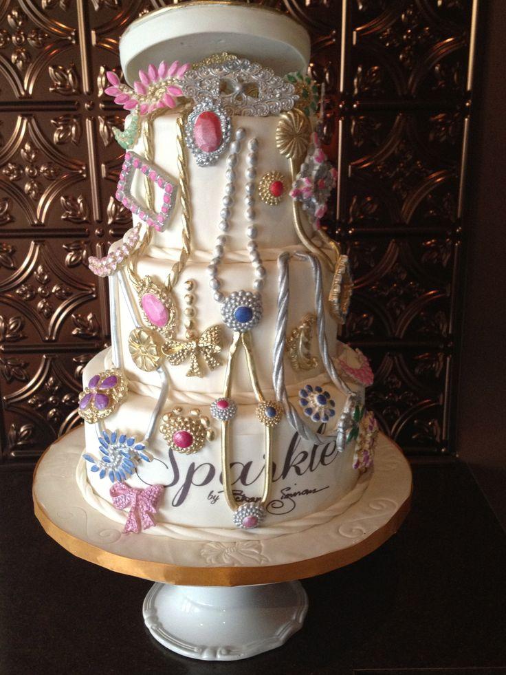Art I Cake Jewelry Ideas : Jewelry Box Cake Cheryl McMillan Cake Design Pinterest