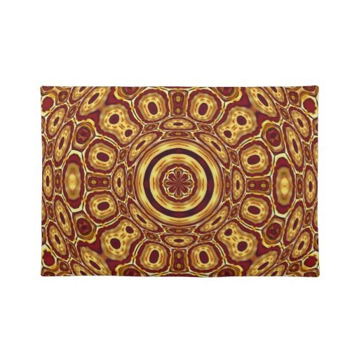 african placemat wood