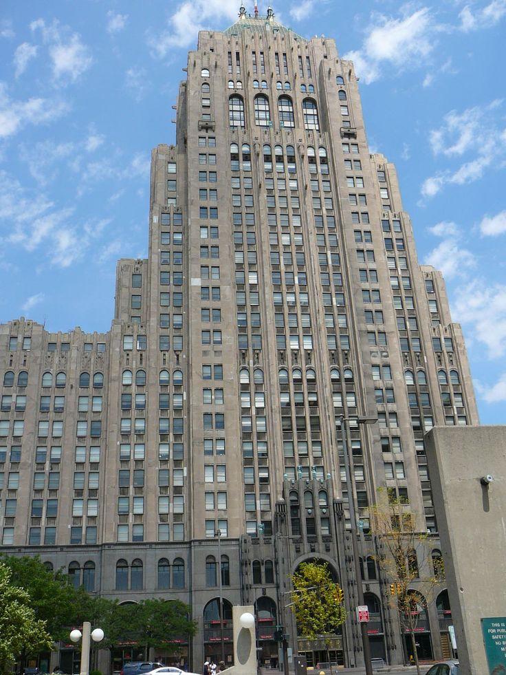 Fisher building detroit mi architect albert kahn for Detroit architectes