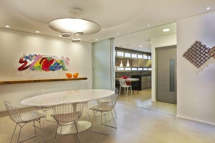 decoracao sala de jantar moderna