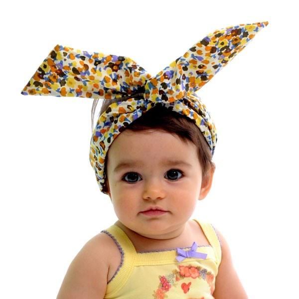 Adorable Headband Scarf Retro Flowers | Fabulous! Head Scarfs & Banda ...