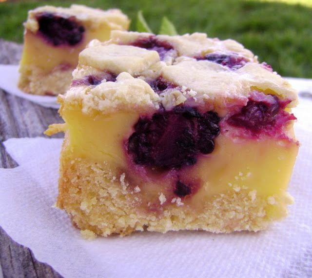 Blackberry Bars | Cupcakes, Cakes & Cakeballs | Pinterest