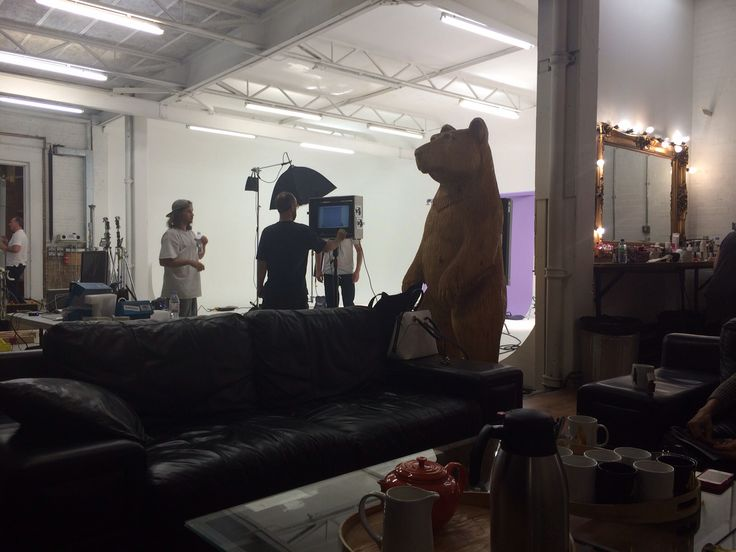 Behind the scenes at our latest video shoot... #houseoffraser