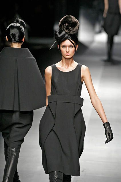 Hiroko koshino f w 2008 my style pinterest Contemporary fashion designers