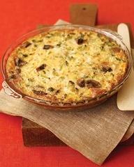 Mushroom-Cheddar Frittata | Food Ideas That Intrigue Me | Pinterest