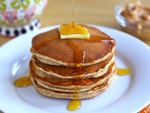 Rosa Parks' Featherlite Peanut Butter Pancakes | Recipe