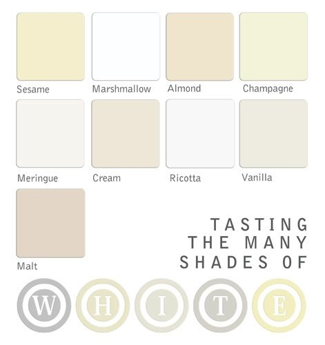 Cream shades color pinterest for Shades of neutral colors