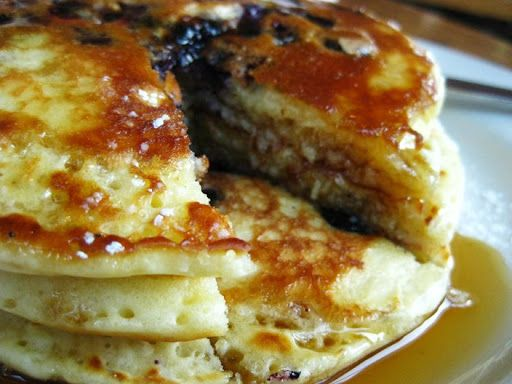 Easy Blueberry Pancakes Recipe on Yummly | Recipes | Pinterest