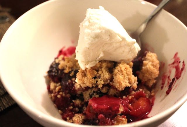 Peach and Blueberry Crisp | Recipes | Pinterest