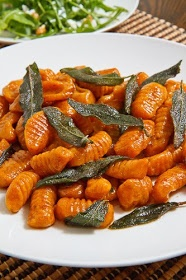 Closet Cooking: Pumpkin Gnocchi in a Brown Butter and Sage Sauce