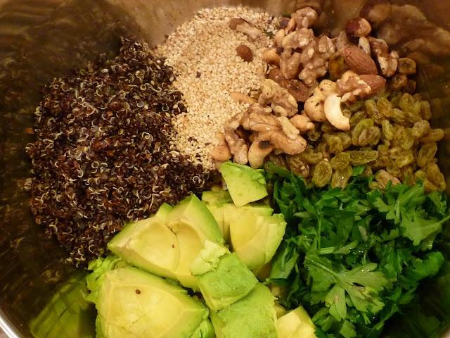 Quinoa Avocado Salad | Boil meets Grill, Romance Ensues | Pinterest
