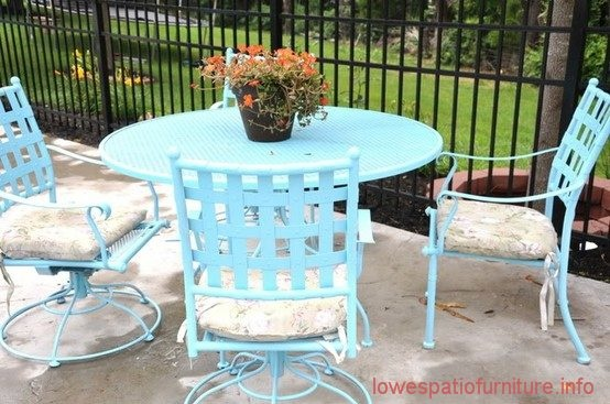 Painting patio furniture do it yourself pinterest - Patio furniture ideas pinterest ...