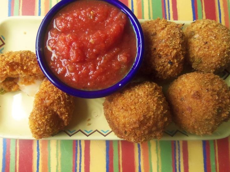 Mexican Rice Balls - Hispanic Kitchen | Rice! We Love Rice! | Pintere ...