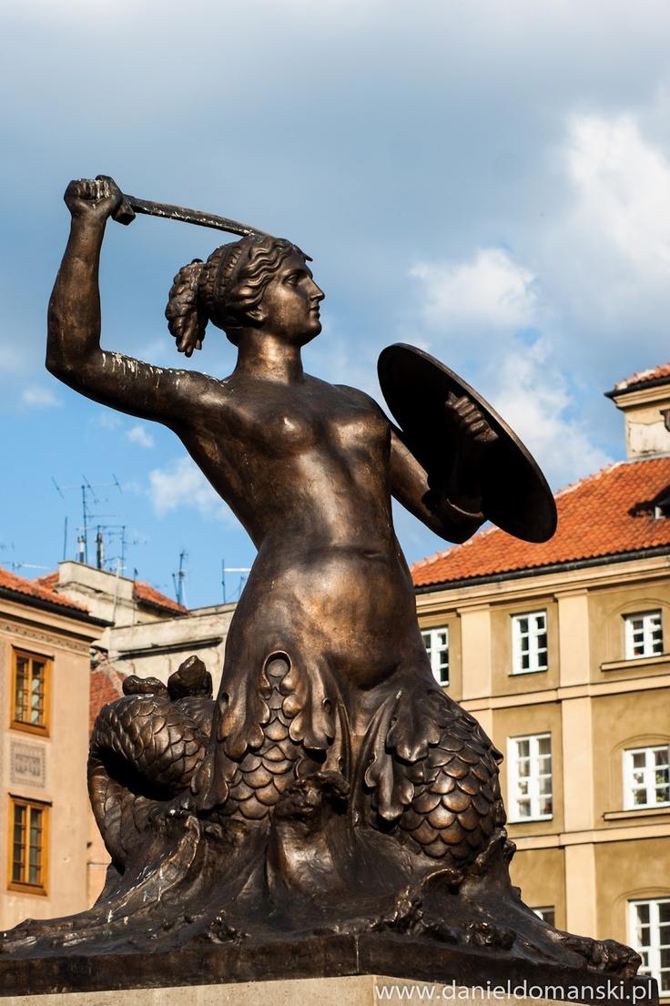 pomnik Syrenki w Warszawie