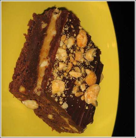 ... the nutmeg peanut butter fudge brownies with salted peanuts brownies