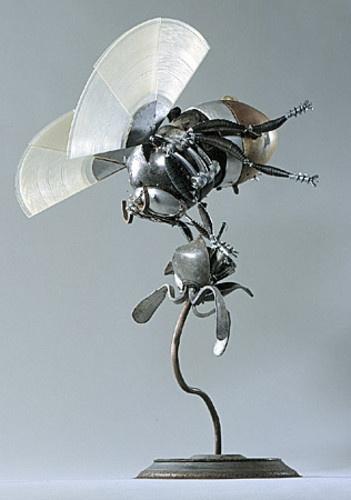 how to make metal art sculptures