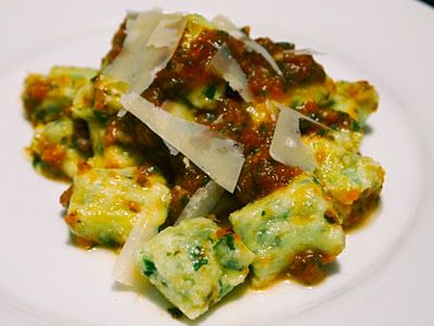 Spinach Ricotta Gnocchi | Recipes to try | Pinterest