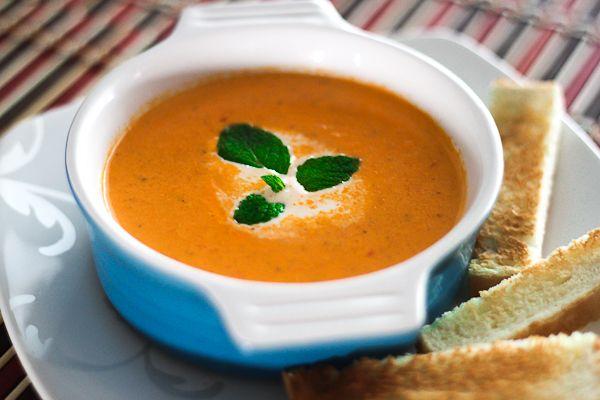 Cream of Tomato Soup Recipe | What's for dinner? | Pinterest