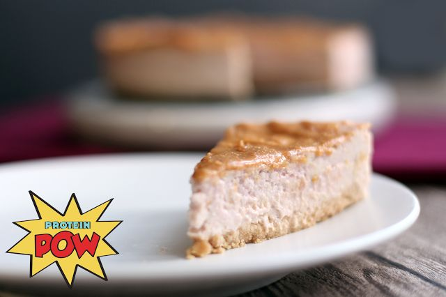 ... & Jelly Protein Cheesecake aka the BEST Protein Cheesecake on EARTH