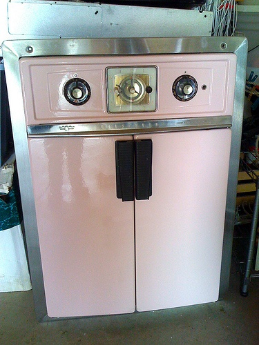 we have one of these bad boy's in our kitchen ... its an oven