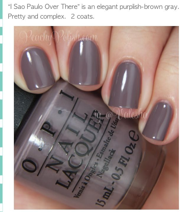 """OPI 2014 Spring Colors   """"Because you're worth it""""   Pinterest"""