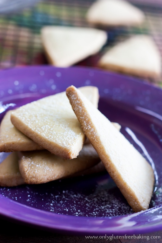 Ingredient Gluten Free Shortbread | Food makes me smile! | Pinterest
