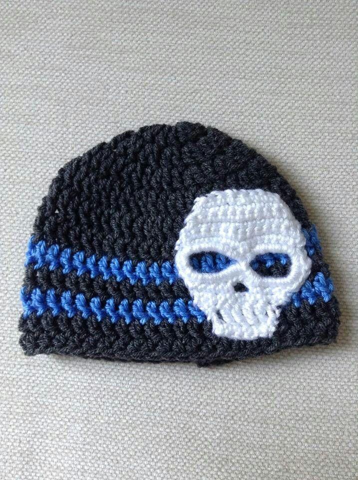 Crochet Skull Cap : skull cap