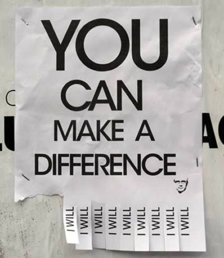 Plan to make a difference.