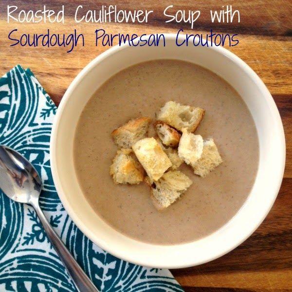 roasted cauliflower leek soup sweet paul magazine roasted cauliflower ...