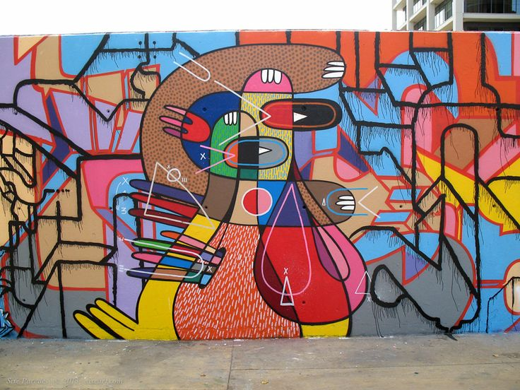 Pin by leo terres on sixeart sergio hidalgo pinterest - Graffitis en paredes ...