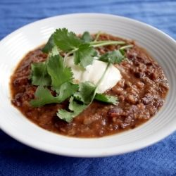 An easy black bean soup to help get you through the week - with a ...