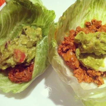 Turkey Taco Lettuce Wraps | Main Dishes / Dinner | Pinterest