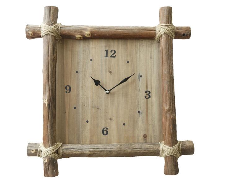 horloge en bois becquet a la campagne pinterest. Black Bedroom Furniture Sets. Home Design Ideas