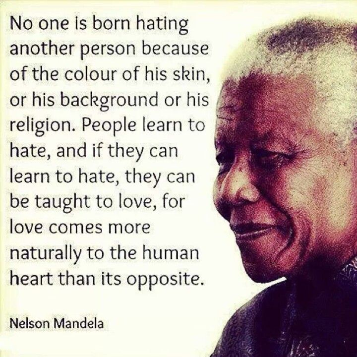 Quotes About Love Over Hate : Nelson Mandela Uitspraken Pinterest